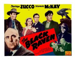 The Black Raven 1943 DVD - George Zucco / Wanda McKay